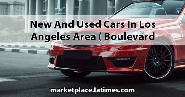 New and Used Cars in Los Angeles Area ( Boulevard Cadillac )
