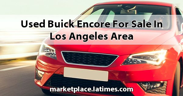 Used Buick Encore for sale in Los Angeles Area
