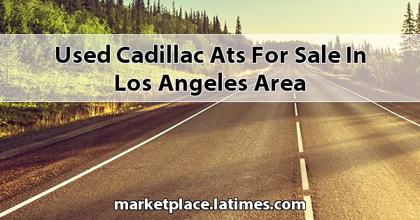 Used Cadillac ATS for sale in Los Angeles Area