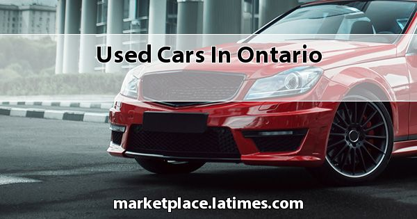 Used Cars in Ontario