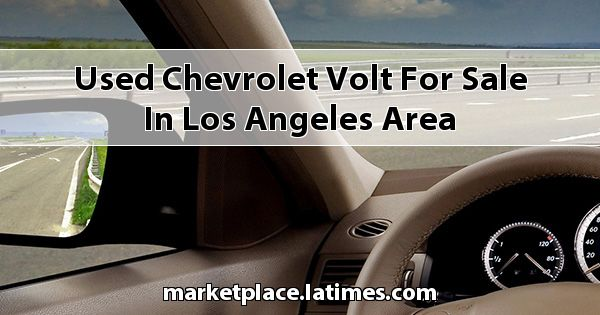 Used Chevrolet Volt for sale in Los Angeles Area