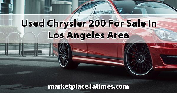 Used Chrysler 200 for sale in Los Angeles Area