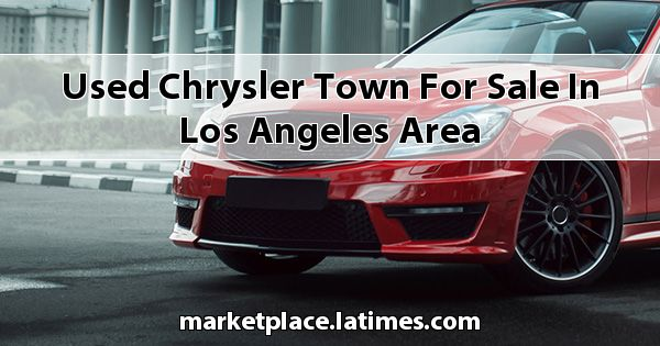 Used Chrysler Town for sale in Los Angeles Area