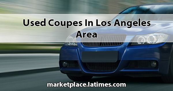 Used Coupes in Los Angeles Area