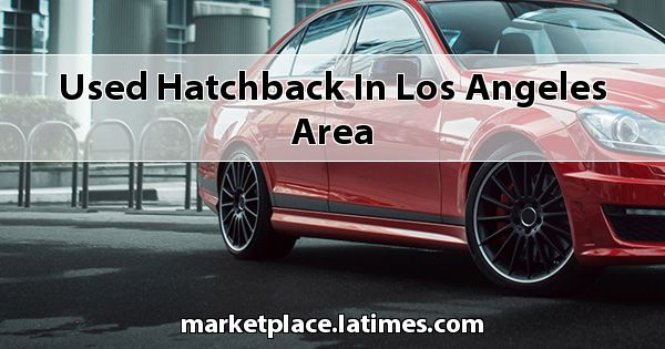 Used Hatchback in Los Angeles Area