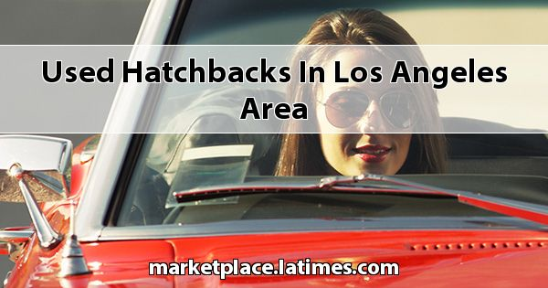 Used Hatchbacks in Los Angeles Area