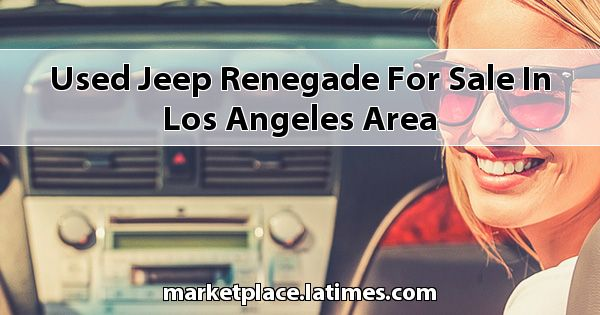 Used Jeep Renegade for sale in Los Angeles Area