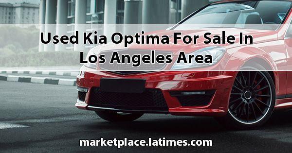 Used Kia Optima for sale in Los Angeles Area