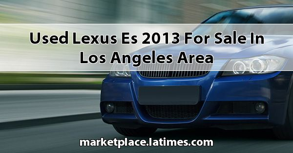 Used Lexus ES 2013 for sale in Los Angeles Area