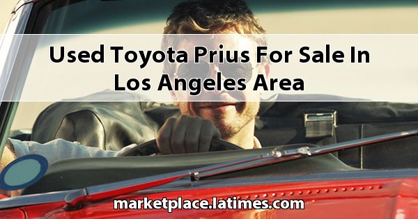 Used Toyota Prius for sale in Los Angeles Area