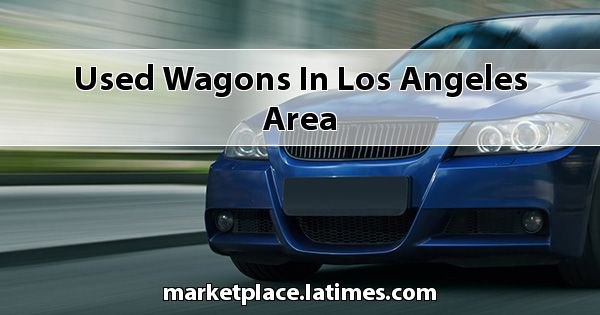 Used Wagons in Los Angeles Area