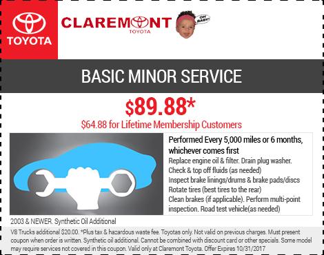 Basic Minor Service