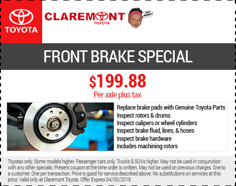 Front Brake Special