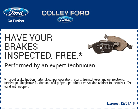 Have Your Brakes Inspected Free*