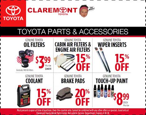 Toyota Parts & Accessories
