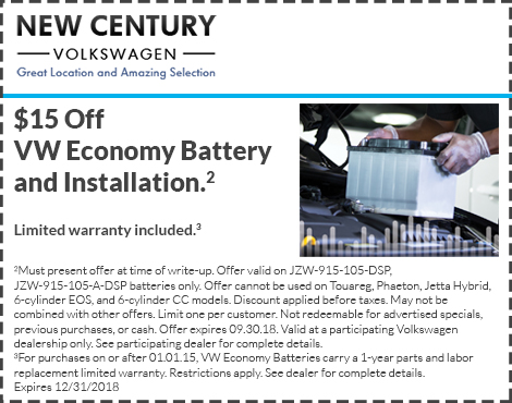 VW Economy Battery and Installation
