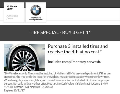 Tire Special Buy 3 Get 1