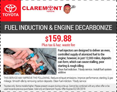 Fuel Induction & Engine Decarbonize