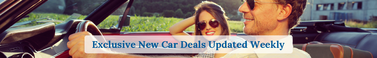 Exclusive New Car Deals Updated Weekly